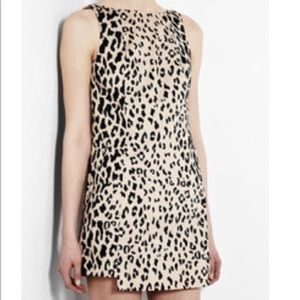 Tibi cheetah leopard shift dress. Size 6